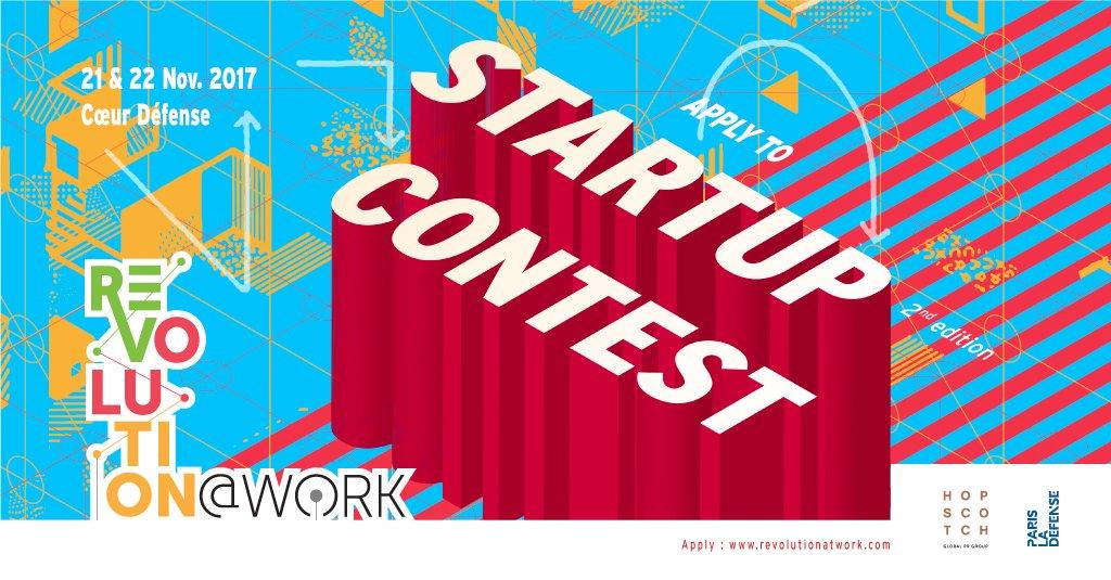 Revolution@Work 2017 : Geolocaux sélectionné pour le Startup Contest !