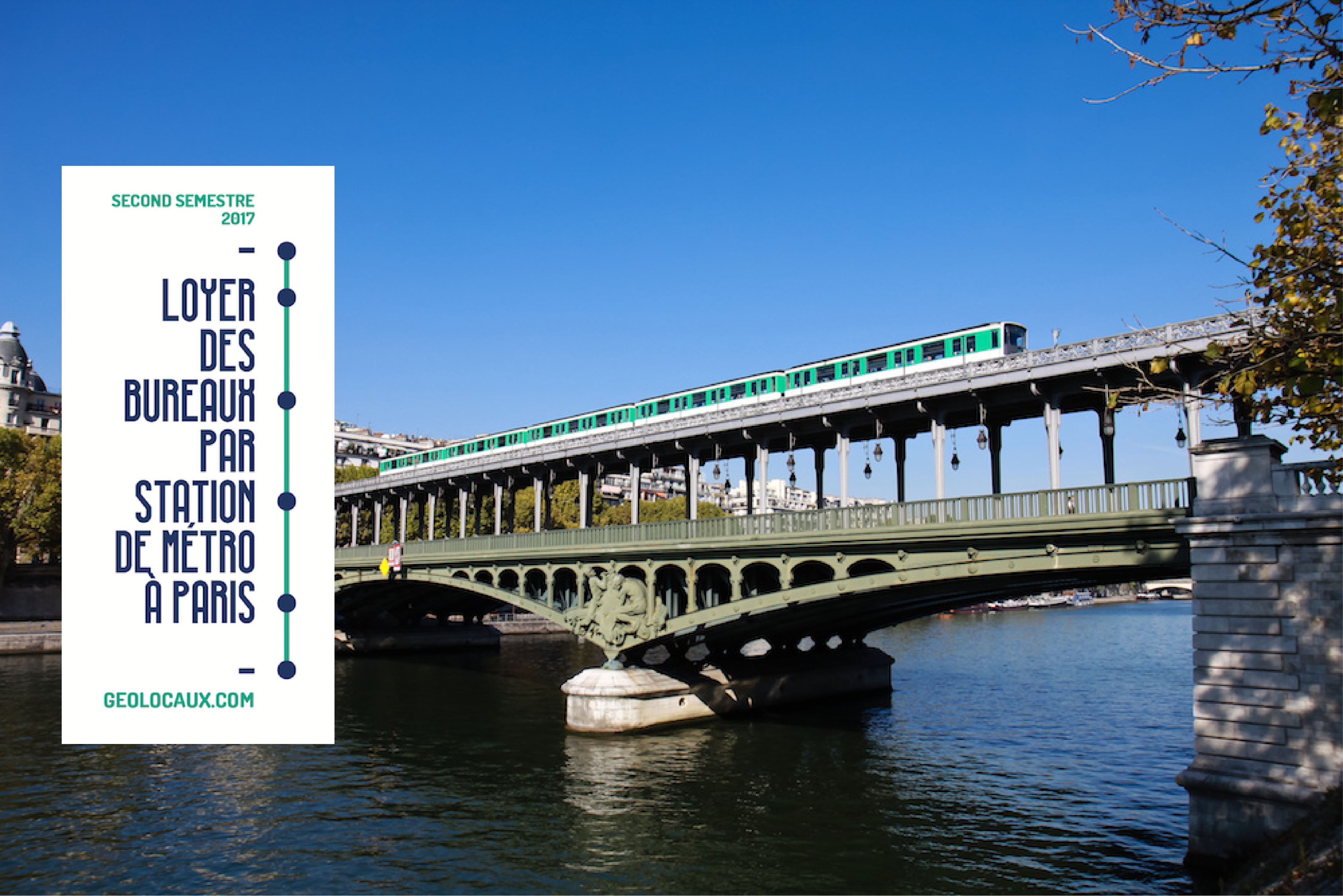 Loyers de bureaux à Paris : la nouvelle carte des prix en fonction des stations de métro
