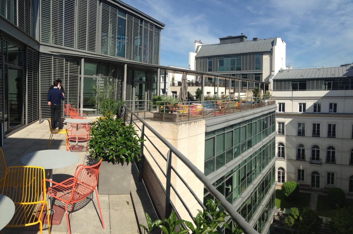 Terrasse et jardin au bureau : latout en plus de nextdoor !