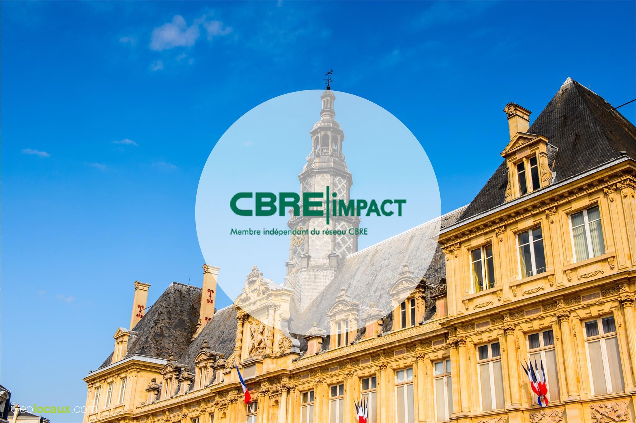 CBRE Impact Reims geolocaux