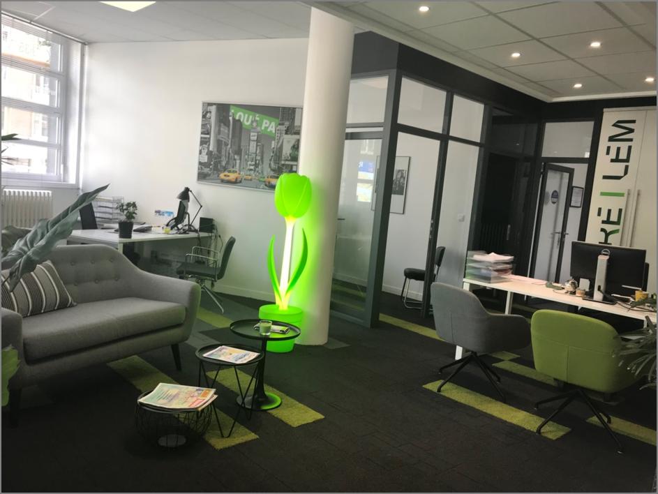 Lem cbre les bureaux de l agence font peau neuve