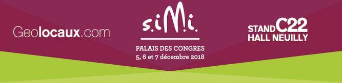 SIMI 2018 Geolocaux