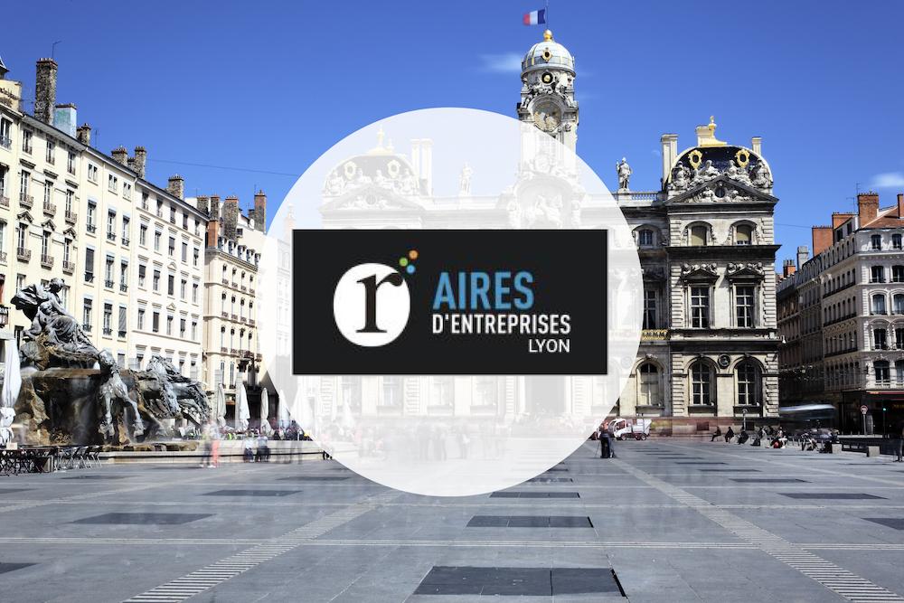 Aires d'Entreprises Lyon : nouveau partenaire Geolocaux