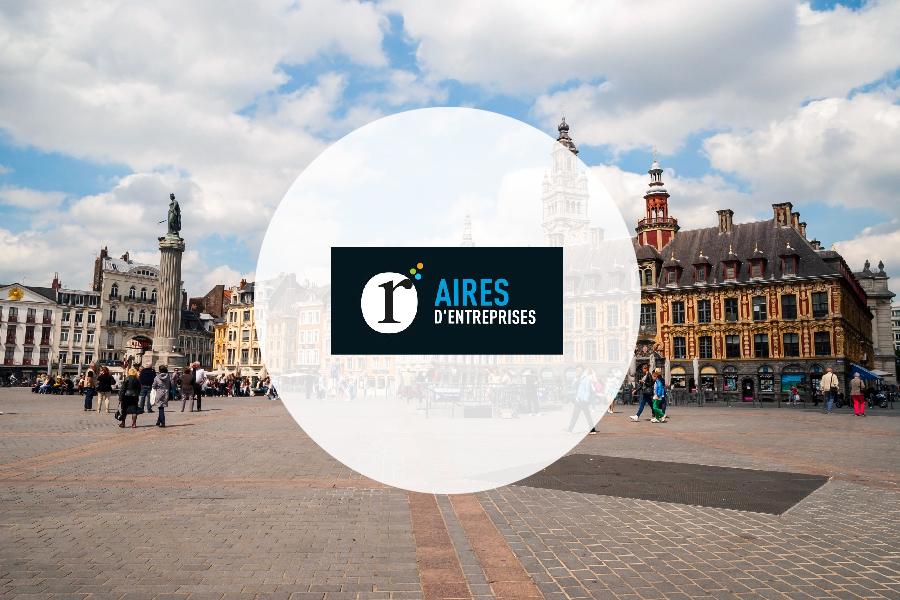 Aires d'Entreprises Lille : nouveau partenaire Geolocaux