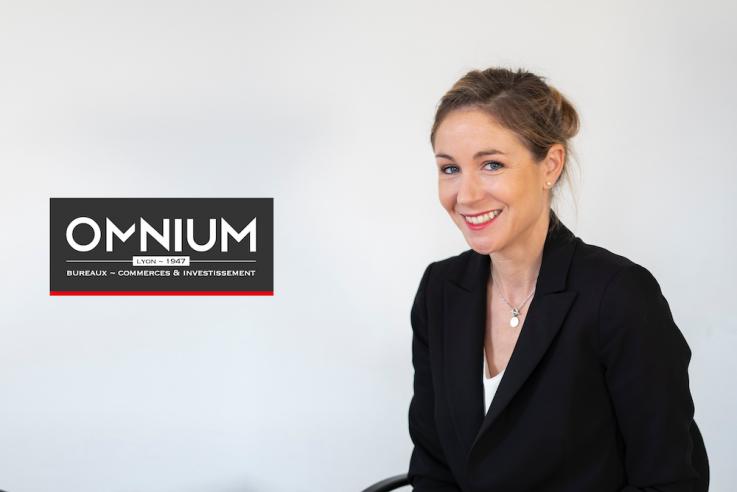 Sophie Mezin, associée, directrice du département bureaux chez OMNIUM