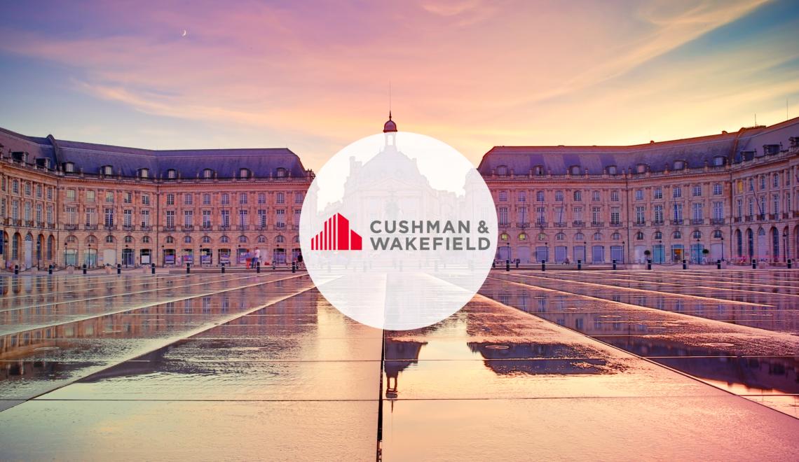 Cushman & Wakefield Bordeaux diffuse ses annonces sur Geolocaux