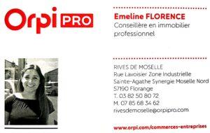 Emeline Florence Orpi Pro Immo Pro Lorraine
