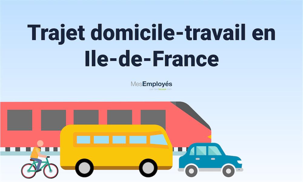 Combien de temps un francilien met-il pour se rendre au travail en 2020 ?