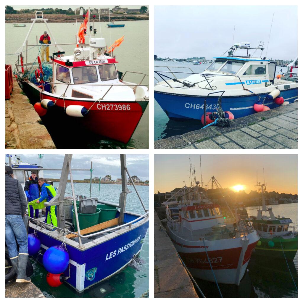 Les bateaux de Thibault