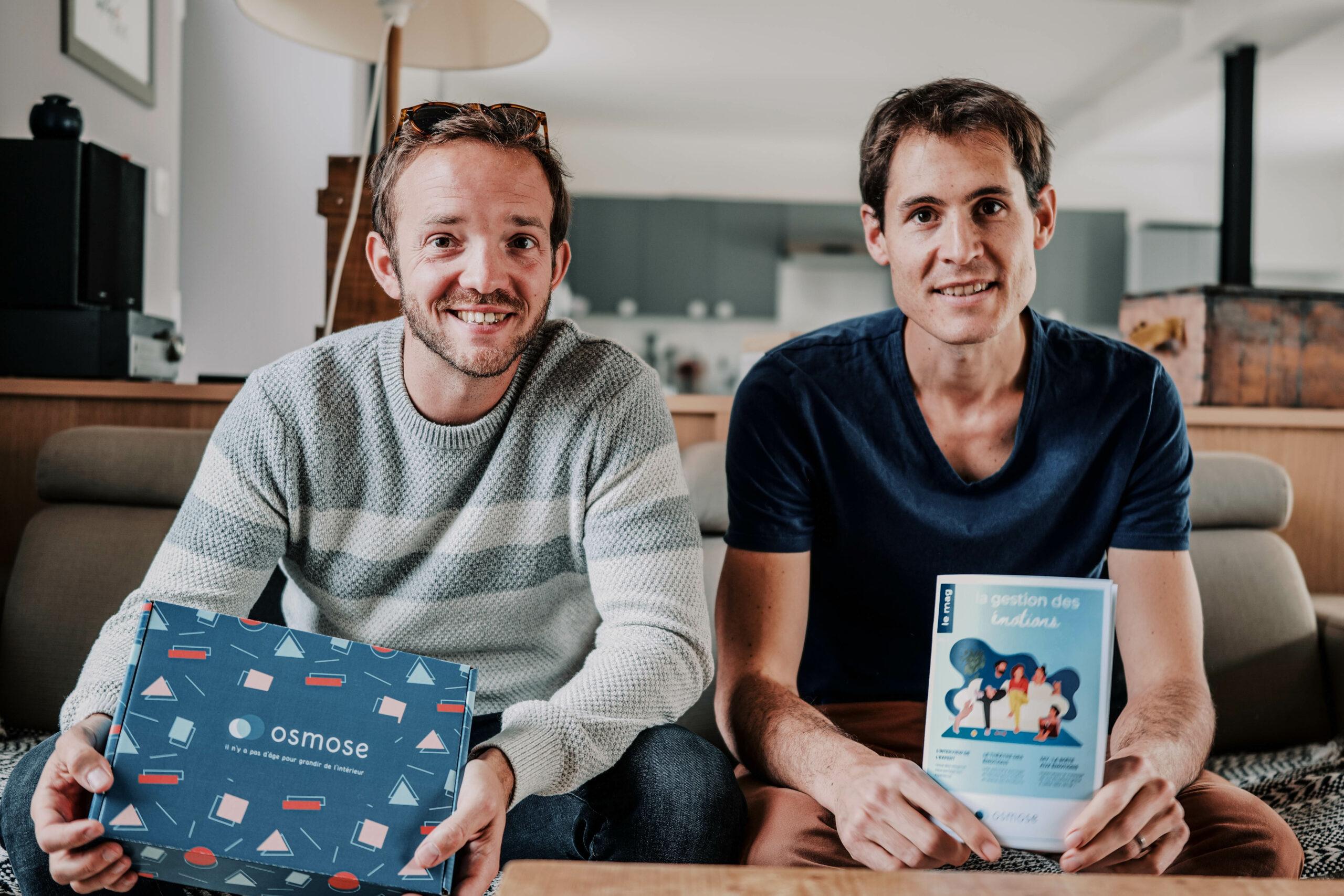 Benjamin Planche et Vincent Chavinier créateur d'Osmose